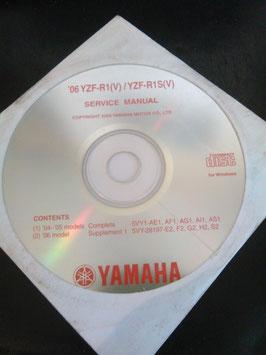 Yamaha Werkstatthandbücher auf CD (original) - '06 +'07 YZF R1