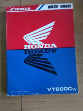 Honda VT 600 Cw - Werkstatt-Handbuch