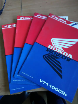 Honda VT 1100 - Werkstatt-Handbuch-Zusatz im Paket