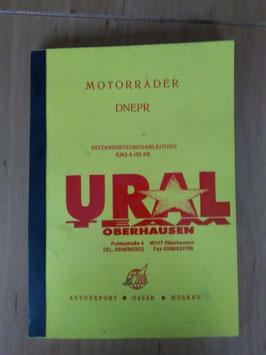 Motorräder DNEPR - Ural - Instandsetzungsanleitung