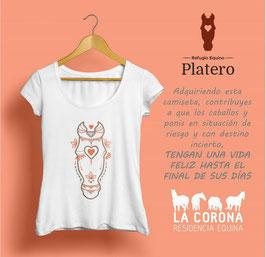 Camiseta Refugio Equino Platero