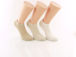 3 Paar Sneaker Socken Beigetöne