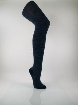 1 Stück Damen Strumpfhose jeans meliert