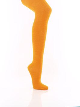 1 Stück Kinderstrumpfhosen einfarbig Orange