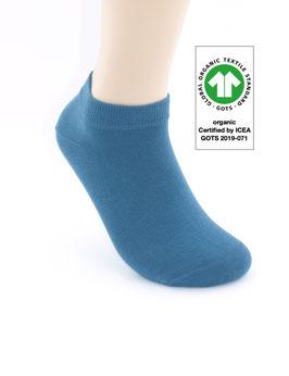 1 Paar Bio-Baumwolle Sneaker Socken jeans