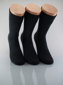 3 Paar Herrensocken Comfort anthrazit