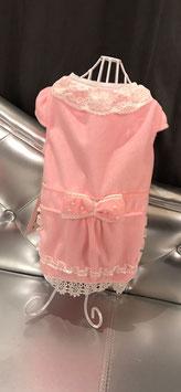 Jasjes met witte kraag roze/blauw