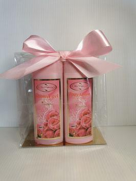 Rose@bg verwenpakket voor in de douche of bad als geschenk of voor jezelf