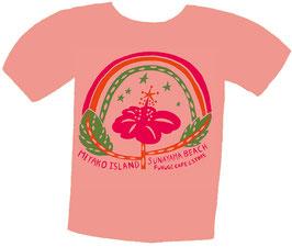 ハイビスカスTシャツ