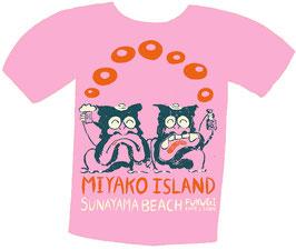 シーサー2匹Tシャツ