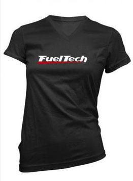 FuelTech Frauen-Shirt Schwarz