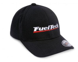 FuelTech Cap Flex Fit in BLACK / RED / GREY