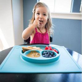 HAPPY MAT - la tovaglietta crea un effetto ventosa quindi il piatto non si muove!