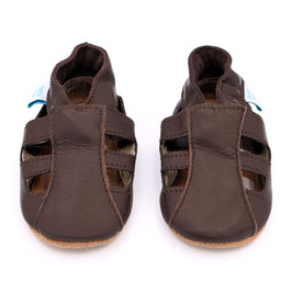 BROWN SANDALS- BABBUCCE DOTTY FISH
