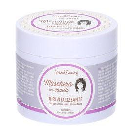 Maschera capelli rivitalizzante passiflora e olio di mandorla - GREENATURAL