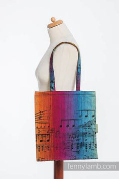 SHOPPING BAG SYMPHONY DARK - LENNYLAMB