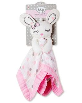 DOUDOU LOVIES- Coniglietto rosa mussola