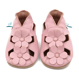 PINK FLOWERS SANDALS- BABBUCCE DOTTY FISH