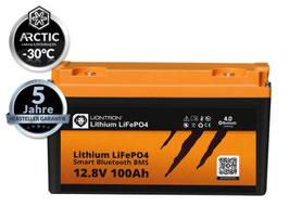 LIONTRON LiFePO4 12V Lithium Akku