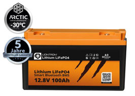 LIONTRON LiFePO4 12V Lithium Akku | NEU: ARCTIC Version inkl. Heizelement