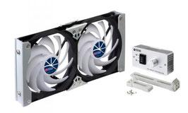 TITAN Kühlschrank Doppellüfter TTC 120x25mm