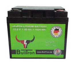 Bulltron LiFePO4 Akku´s| 12V | Lithium Batterie für Wohnmobile inkl. BMS und Bluetooth EXTRA starkes BMS