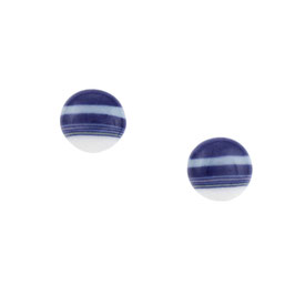 City Porcelain Stud Earring