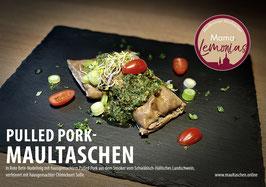 Pulled Pork-Maultaschen