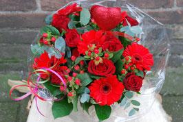 Boeket Valentijn Rood