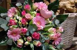 Boeket Valentijn Roze