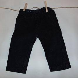 Pantalón pana azul ZARA