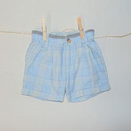Pantalón cuadros azules HYM