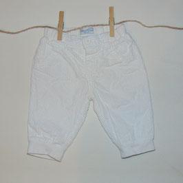 Pantalón pana blanco MAYORAL