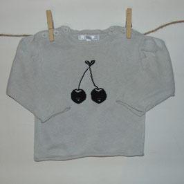 Jersey gris cerezas KITCHOUN