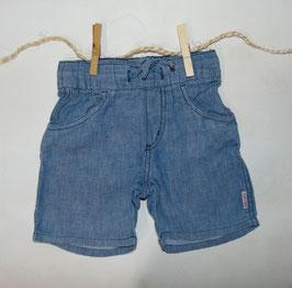 Pantalón corto jaspeado azul H&M