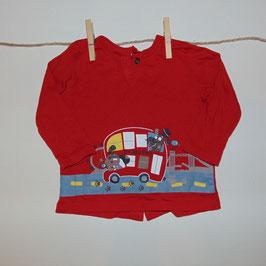 Camiseta roja bus CANADA HOUSE