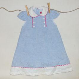 Vestido rayas azul EL COFRE DE LA MODA