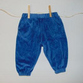 Pantalón chándal azul ZARA