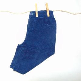 Pantalón pana azul TU