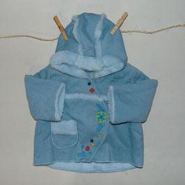 Abrigo azul CATIMINI