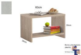 Mesita, mesa auxiliar MAGNUM - Color Aluminio Titán.