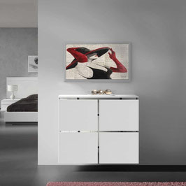 Cubre radiador flotante STAR Especial 110x86x18cm - Color Blanco Soft.
