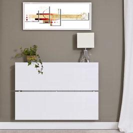 Cubre radiador flotante OMEGA Especial 95cm - Color Blanco Soft.