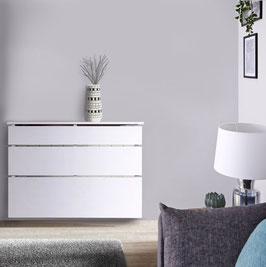 Cubre radiador flotante STIL Especial 50x76x12cm - Color Blanco Soft.