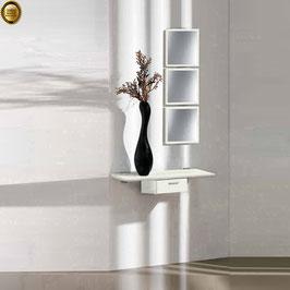 Recibidor diseño XICÓTE 80cm (Sobre madera) - Color Oregón Siena.