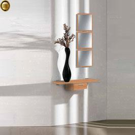 Recibidor diseño XICÓTE 80cm (Sobre madera) - Color Cerezo Duero.