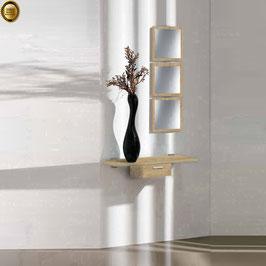 Recibidor diseño XICÓTE 80cm (Sobre madera) - Color Roble Cosmolitan.