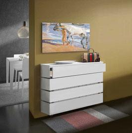 Cubre radiador flotante STANDARD cajón Especial 95cm - Color Blanco Soft.
