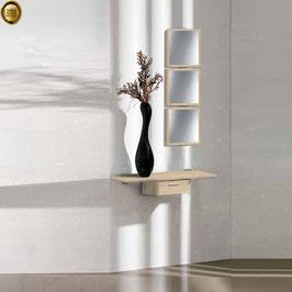 Recibidor diseño XICÓTE 80cm (Sobre madera) - Color Roble Ortegal.