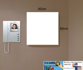 Armario tapa contador Especial 40x60x8cm - Color Blanco Soft.